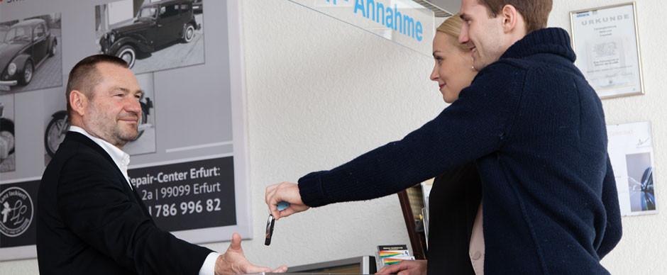 Komplettbetreuung Lackiererei Erfurt